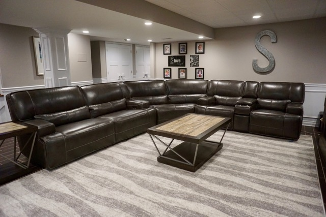 Finished Basement Remodeling Photos