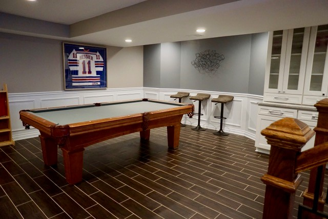 Photos Amp Ideas Finished Basements Projects Chicago Suburbs