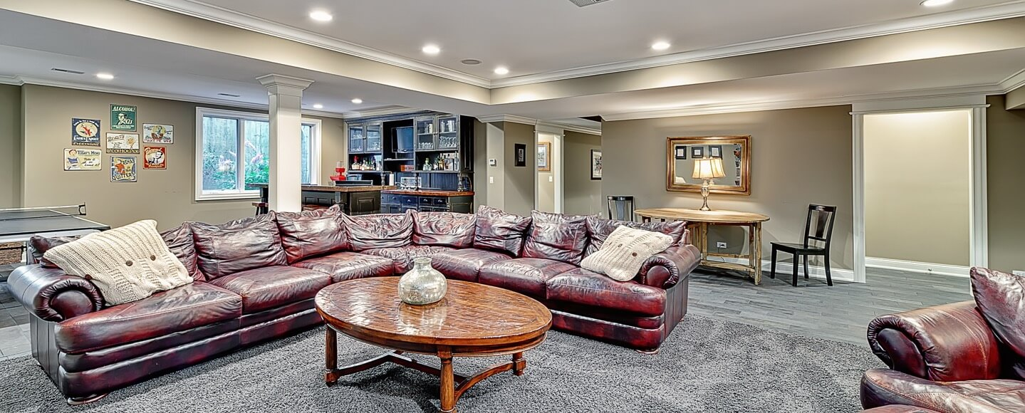finished basements transform your basement chicago suburbs