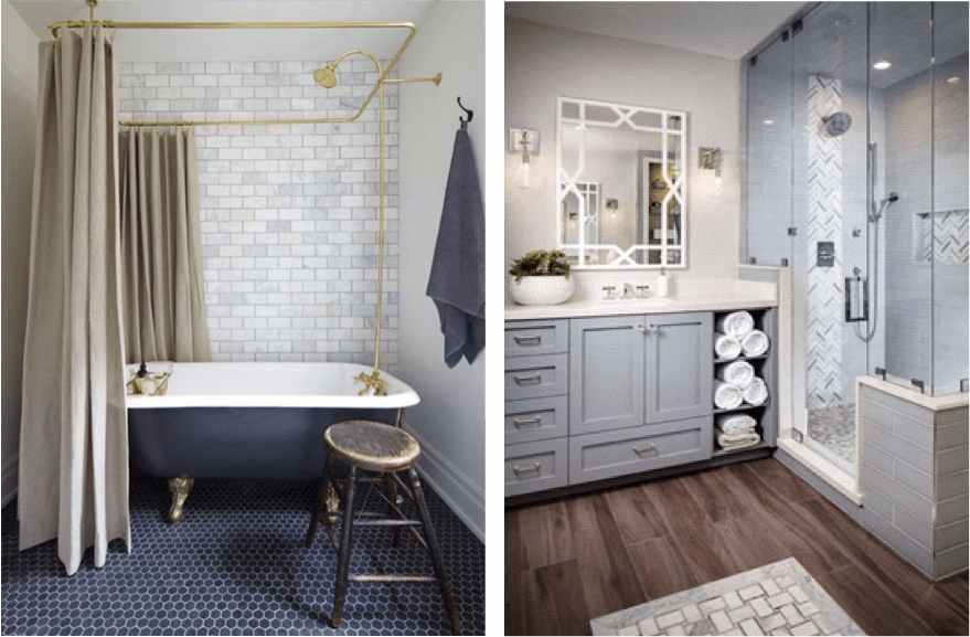 2018 bathroom trends handymen and mrs helper for Bathroom decor trends 2018