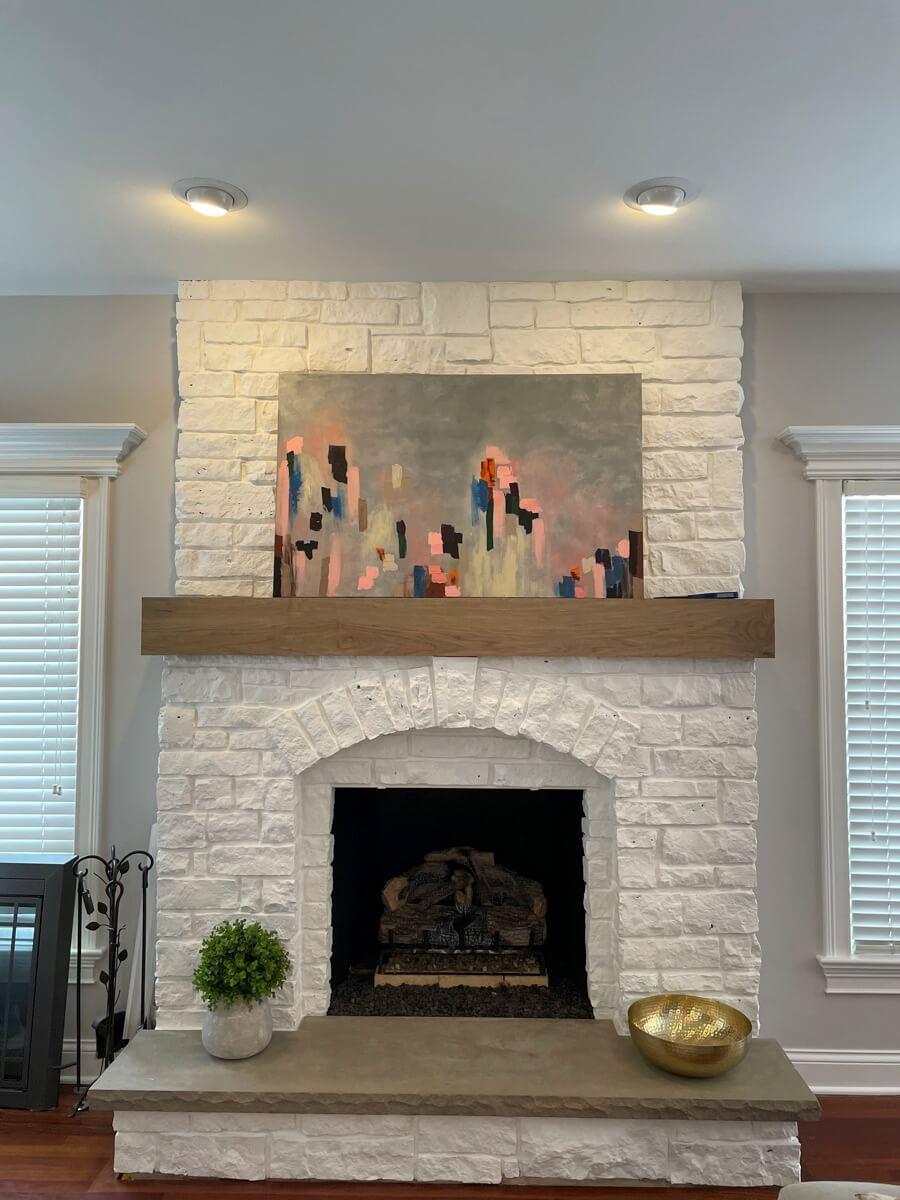 Fireplace Installation Remodel 051b