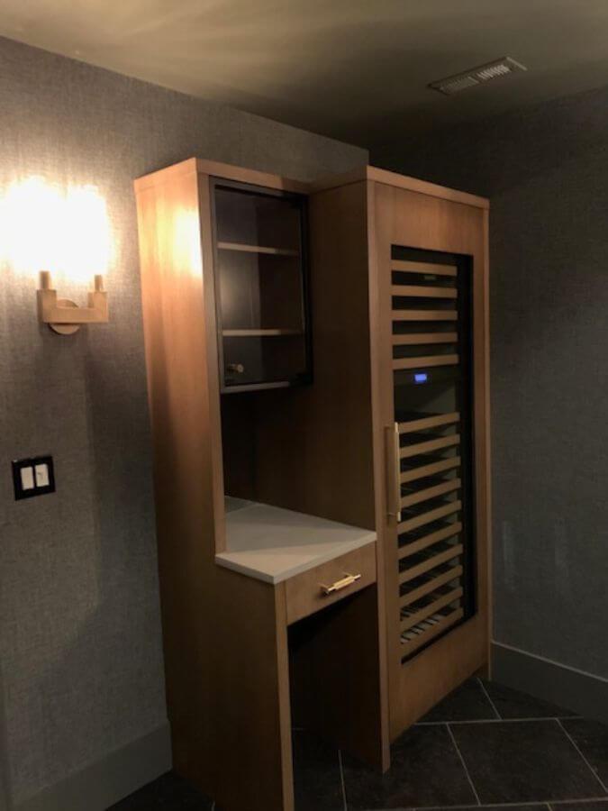 Wine Tasting Room Remodel Palatine IL