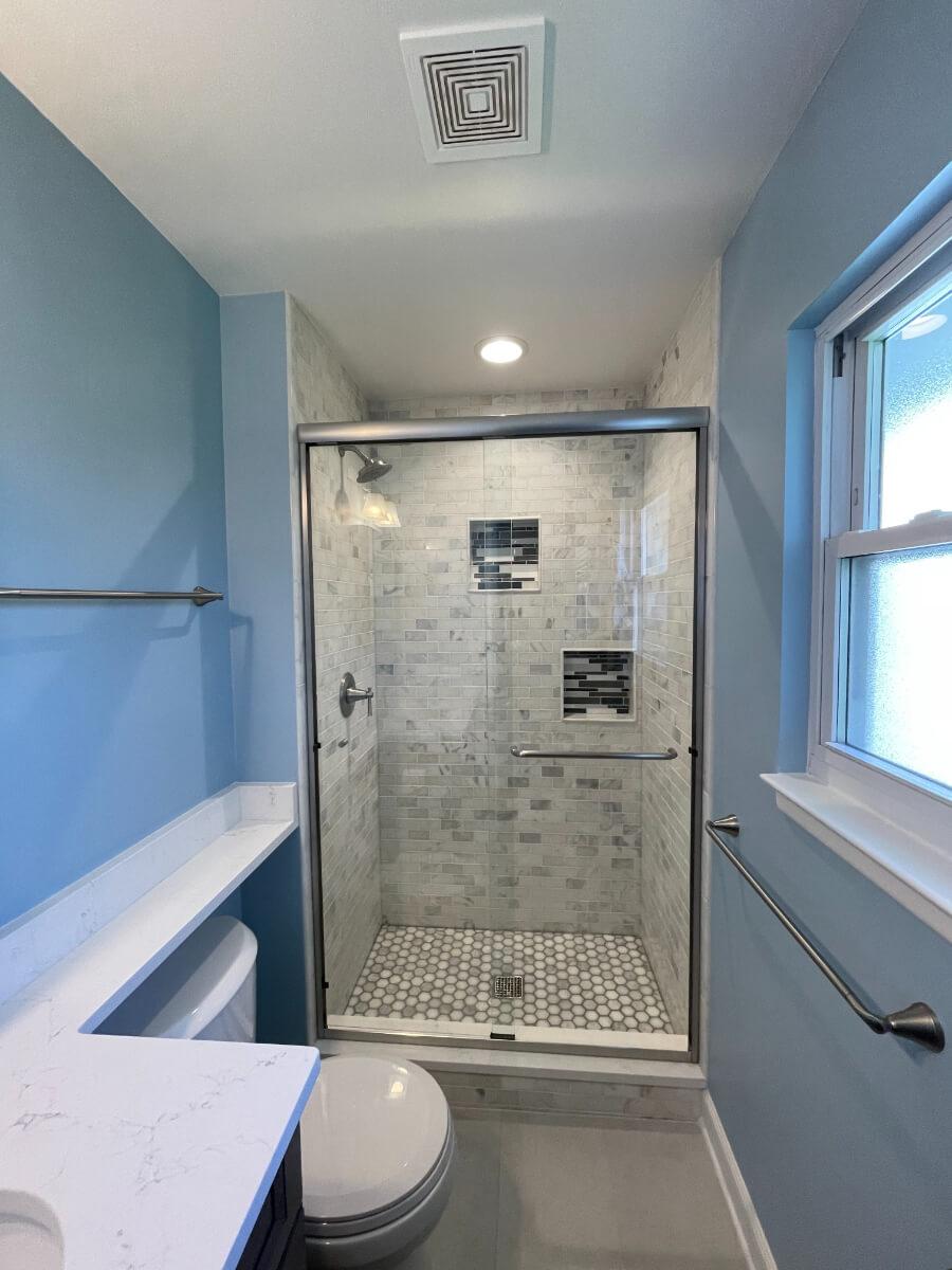 Bathroom Remodel 1c Tile Shower