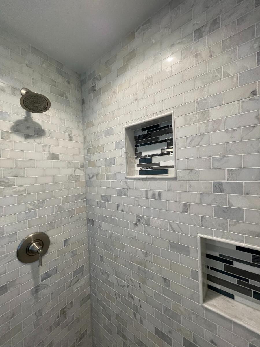 Bathroom Remodel 1d Tile Shower