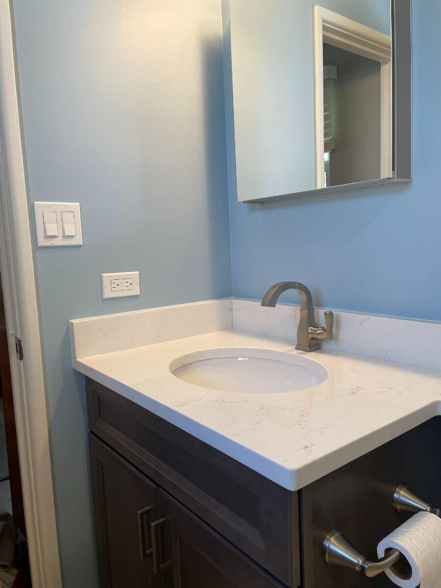 Bathroom Remodel 2b New Vanity