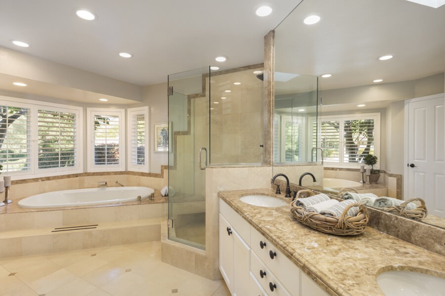 High End Bathroom Remodel 1a