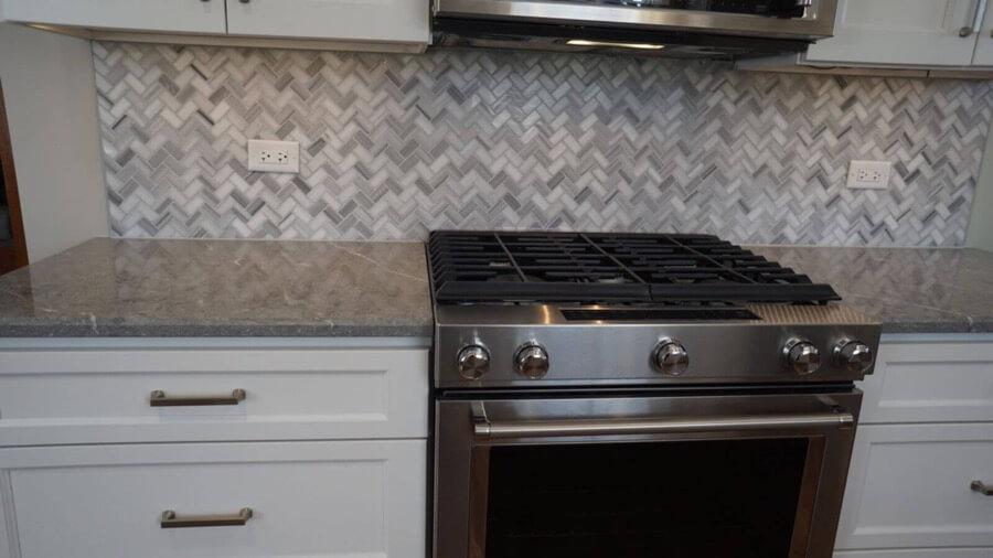 Kitchen Backsplash Tile Installation 1a