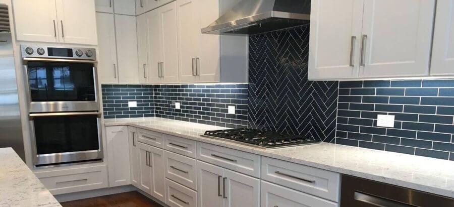 Kitchen Backsplash Tile Installation 2a