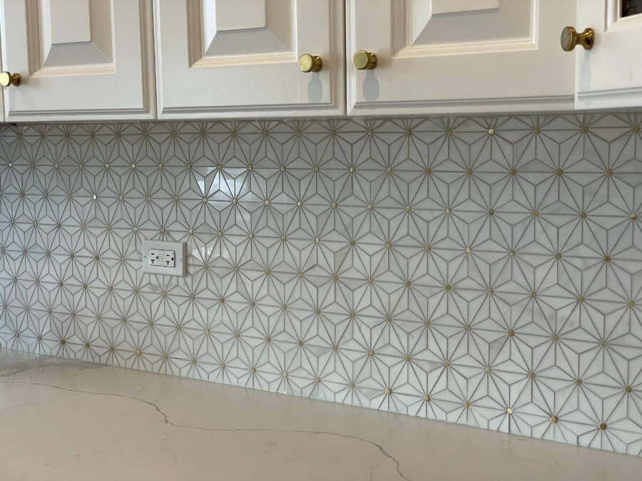 Kitchen Backsplash Tile Installation 5a