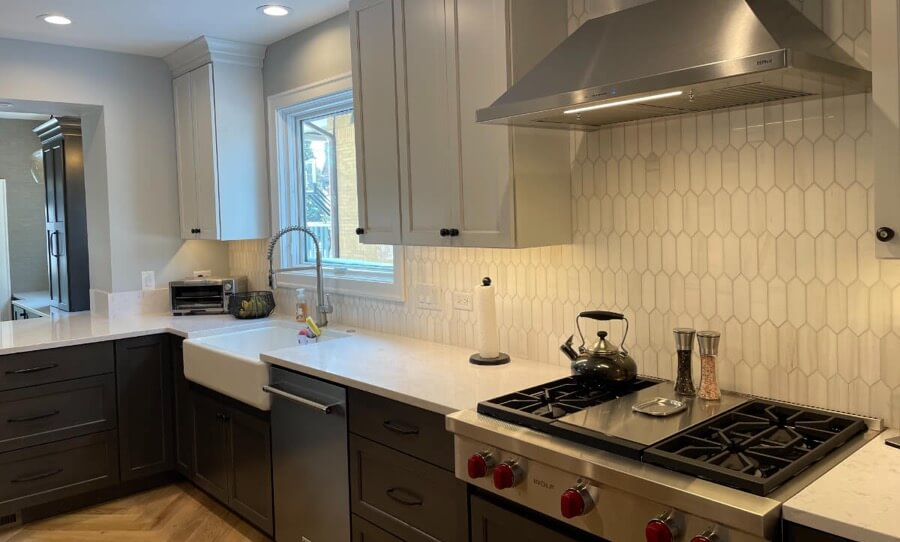 Kitchen Backsplash Tile Installation 6a